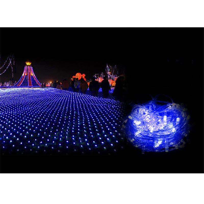 af29b1a9240 Festival Led Lights Outdoor Warm White Blue Multicolor Lawn Fishing Net  Lights Christmas Festival Wedding Party Decoration Mfd44 Christmas  Ornaments ...