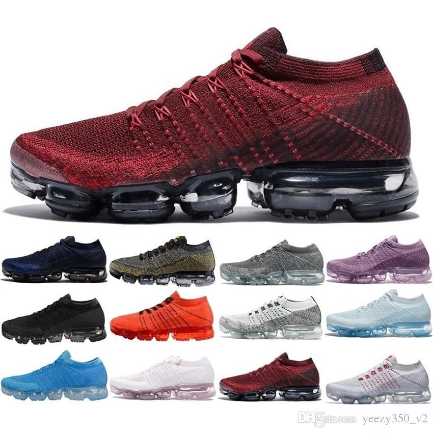 63800bad Compre Nike Air Max Vapormax 2018 Nuevo 2019 Para Hombre 2018 Zapatos  Corrientes De Los Hombres De Las Mujeres De Moda Atlética Hot Corss  Senderismo Correr ...