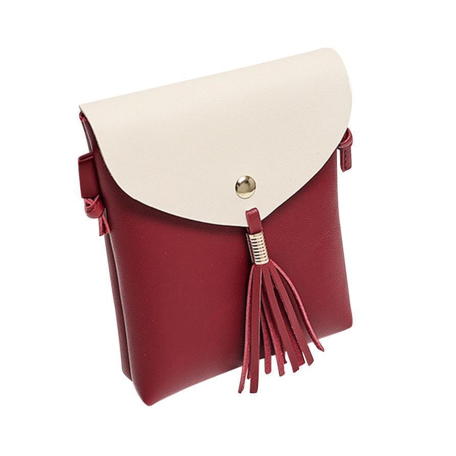 Cheap Women S Handbags Fashion Female Covered Bags Coin Purse Fringed Bag  Tassel Shoulder Female Girls Bag Bolsa Feminina A0 Leather Backpacks Shoulder  Bags ... efa48d19eb