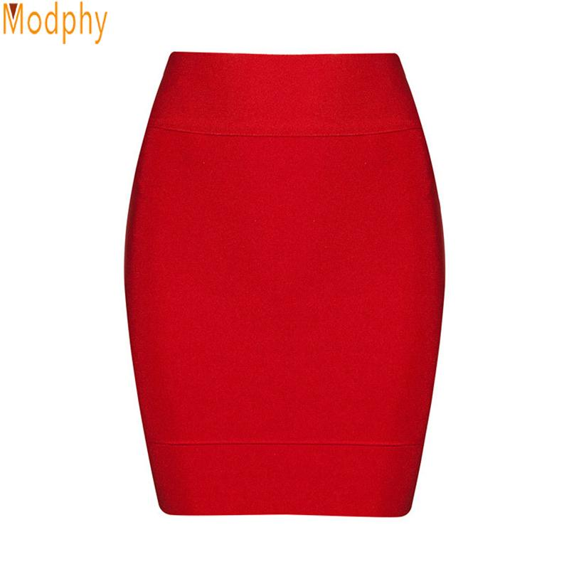 2018 New Arrival Women Winter Sexy Elastic Mini Pencil Brand Quality Rayon Hl Bandage Skirt Drop Shipping Hl777 Y190428