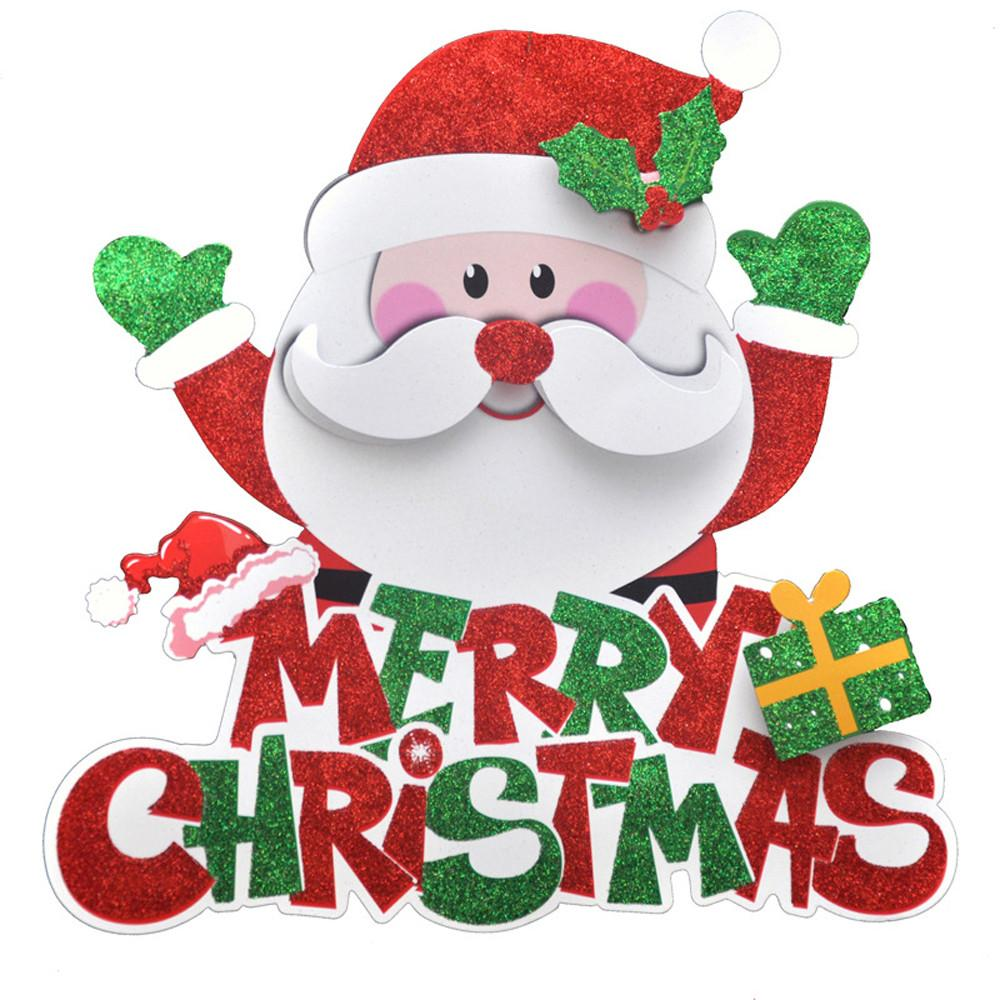 Merry Christmas 2019 Images 2019 Year Merry Christmas Decorations For Home 3D Romantic Xmas