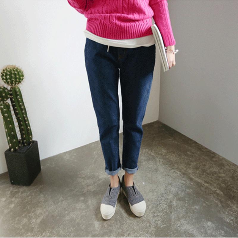 Lguc.H Plus Size Jeans Woman Casual Boyfriend Jeans Women Large Big ... 7cf3cbfe1d59