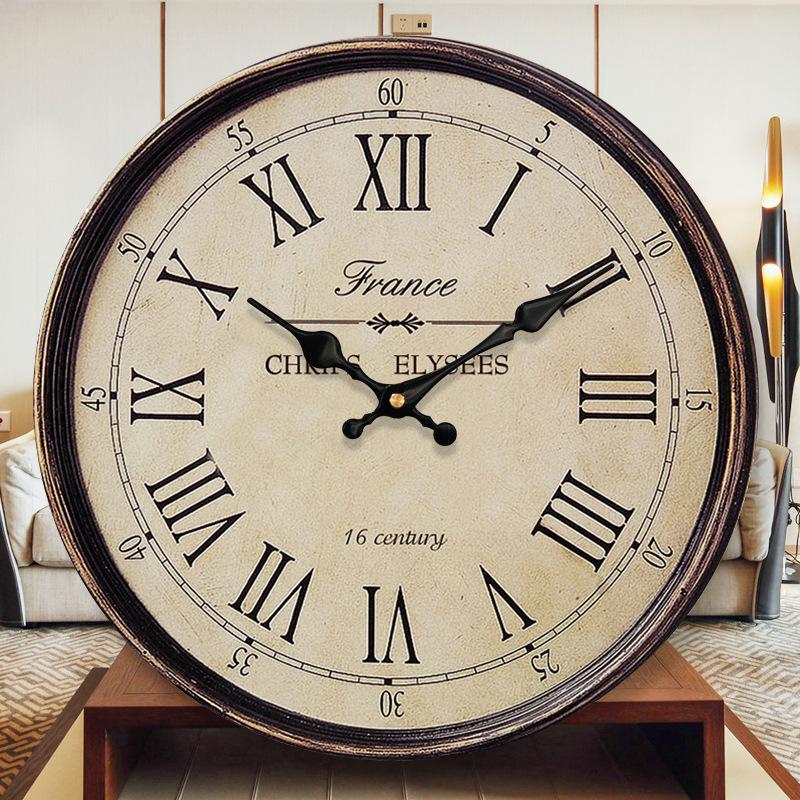 3D Reloj de Pared de Madera Silenciosa Relojes de Cuarzo Vintage Relojes de  Pared de Diseño Moderno Hogar Reloj Cocina Accesorios de Decoración de ...