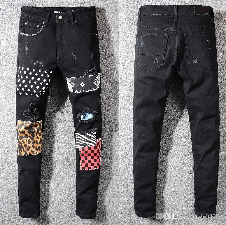 Summer 2020 wholesale men's jeans, European denim production of good quality men's wear welcome to size 28-38:44-54 125