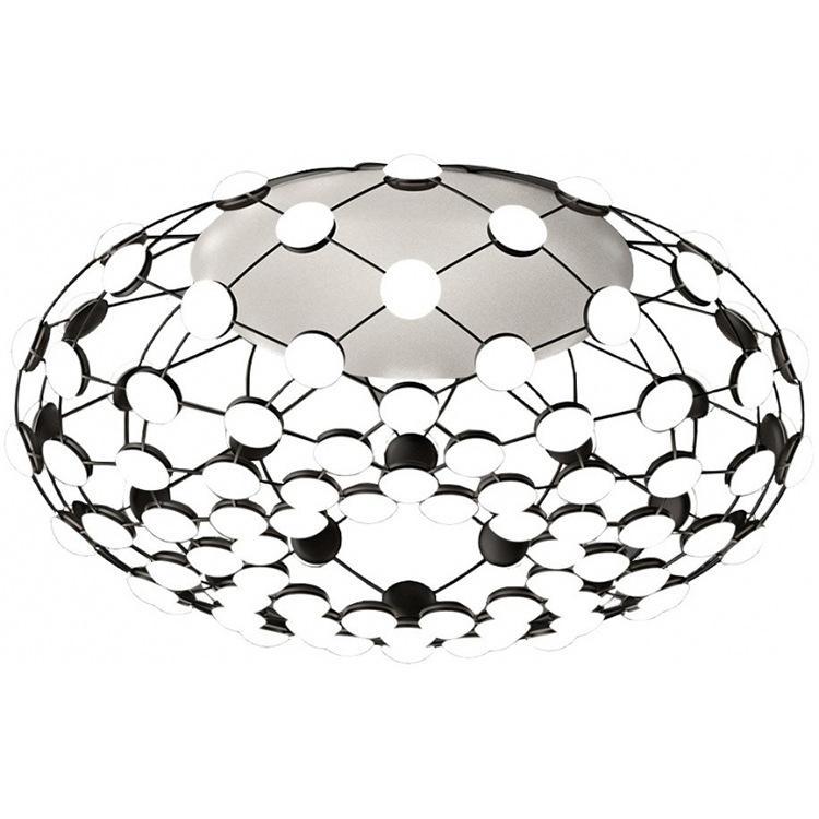 2019 Italian Designer Go Light Post Modern Art Restaurant Big Net
