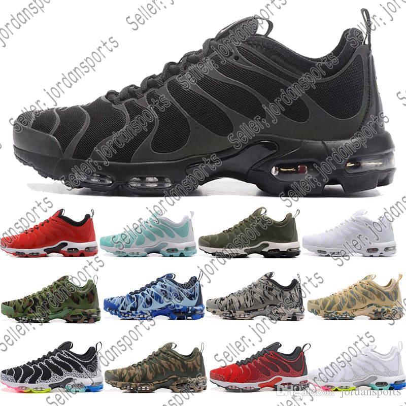 66911c73330e Cheap TN Plus Men Women Running Shoes BE TRUE Yellow Triple White ...