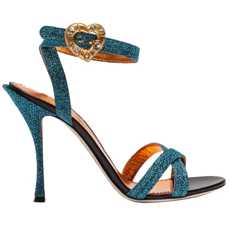 7619edfe7a1 2019 Summer New Cross Strap High Heel Sandals Metallic Blue Glittery Formal  Dress Shoes Women Party Shoes Heart Decor Skechers Sandals Sexy Shoes From  ...