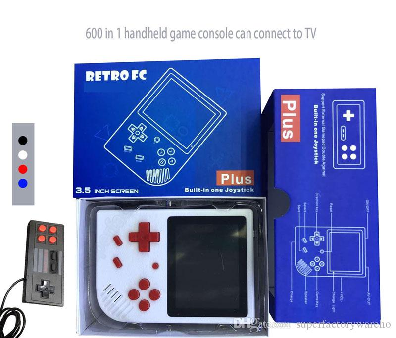73fa7d7a9 Handheld Video Games Console RETRO FC Can Store 600 Games Support Two  Player Game AV Output 3.5 Display Screen Game Player VS PXP3 Ps4 Sup Video  Consoles ...