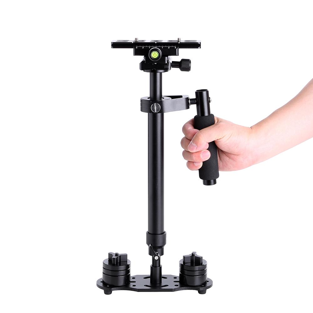 Freeshipping DHL 60cm Professional Handheld Stabilizer Steadicam for Camcorder Digital Camera Video Canon Nikon Sony DSLR Mini Steadycam