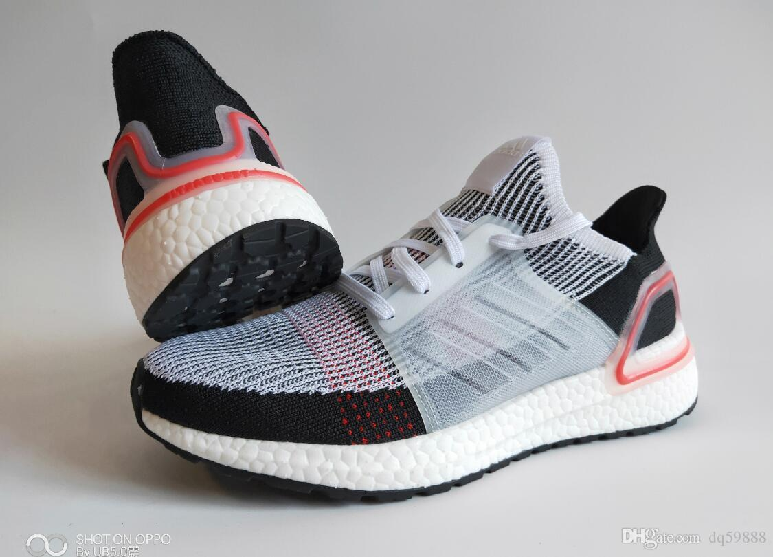 c0b47b71c 2019 Ultra Boost 19 Running Shoes For Men Women Oreo REFRACT True Pink  Ultraboost Mens Trainers Breathable Sports Sneakers Size Eur 36 45 Fashion  Shoes ...