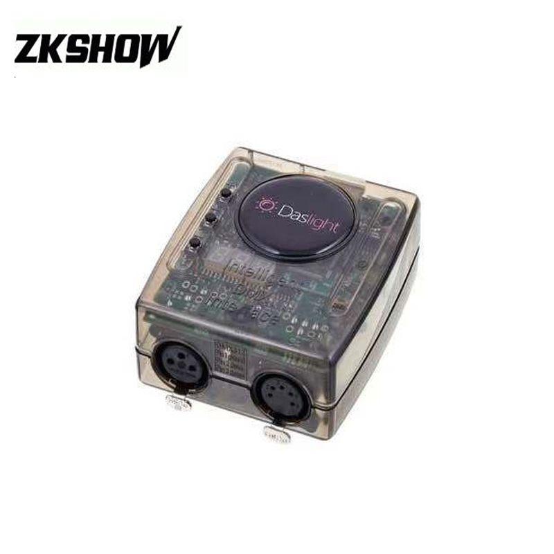Daslight DMX512 USB Software LED Stage Lighting Controller DVC4 Moving Head  DJ Console For PC DJ Light Windows XP MAC VISTA Free Shipping