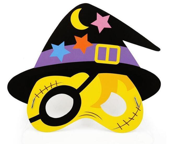 Halloween Masks For Kids.Cartoon Halloween Mask Masquerade Pirate Skull Crown Pumpkin Bat Mask Children Kids Masks Halloween Party Decoration Boys Girls Party Masks1