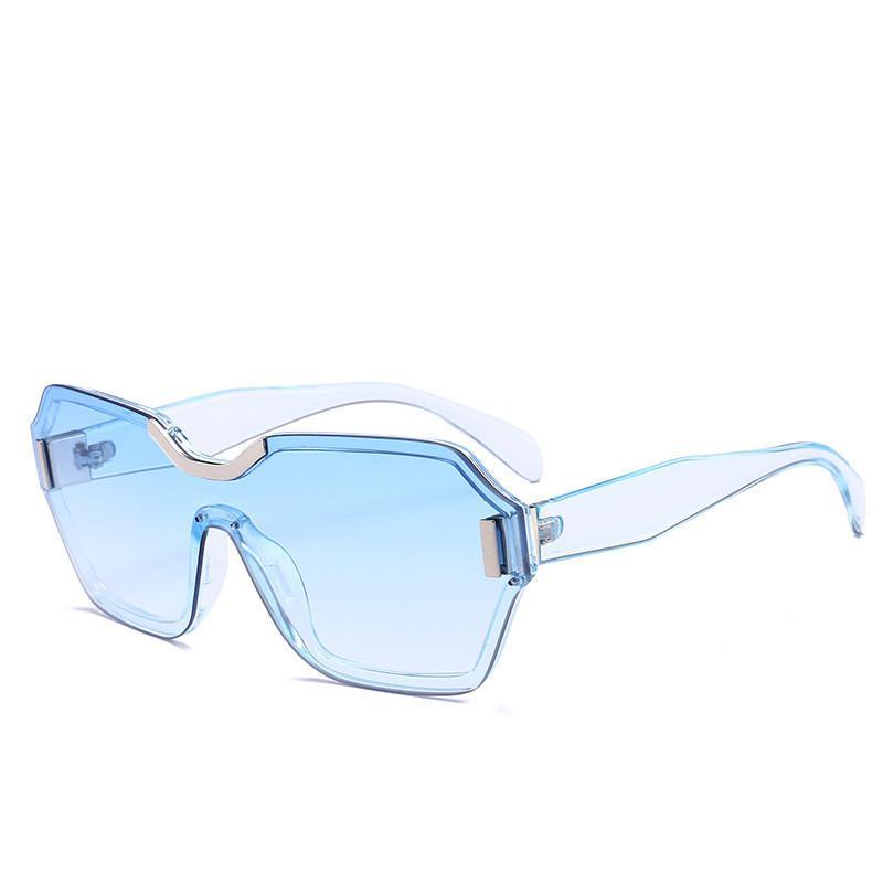 7995c92694d 2019 Retro Sport Sunglasses Fashion Brand Gradient Oversized Eyewear ...