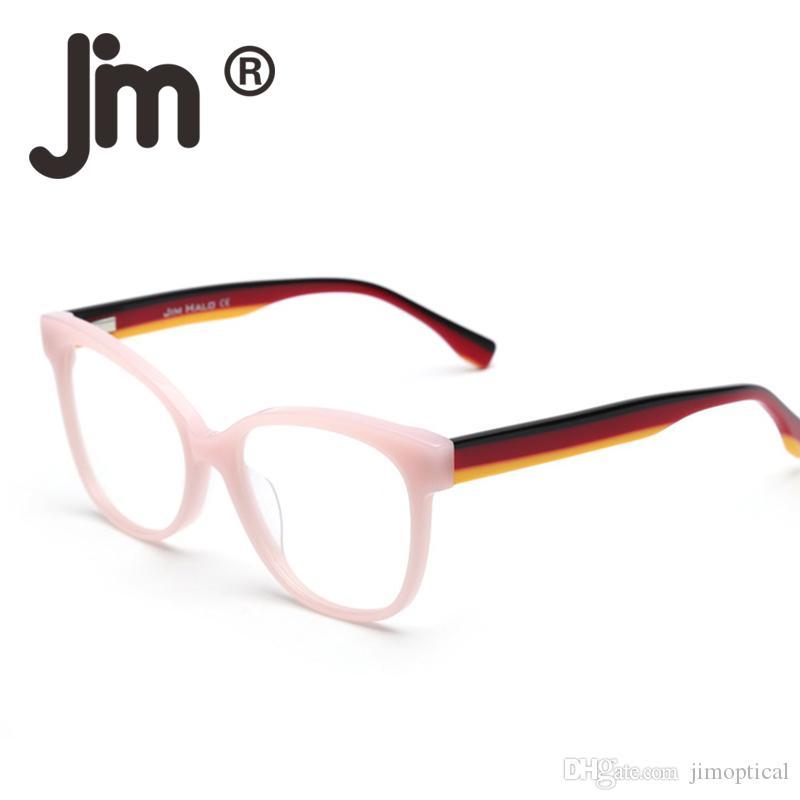 0844970c2499 2019 Spring Hinge Non Prescription Glasses Classic Fashion Oversized Cat  Eye Eyeglasses Line Temple For Women Men From Jimoptical, $18.34 |  DHgate.Com