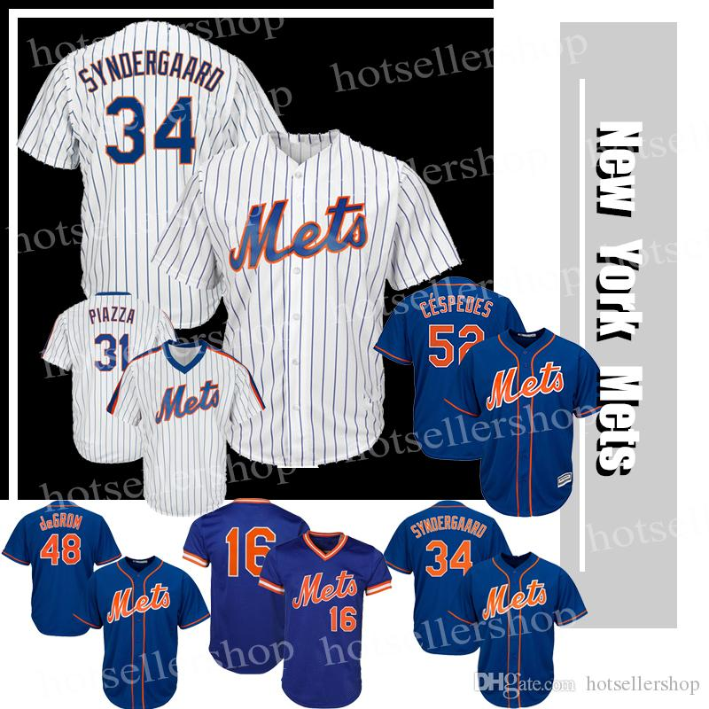 76e693462fb buy 2018 new york mets baseball jerseys 52 yoenis cespedes 17 keith  hernandez 34 noah 16