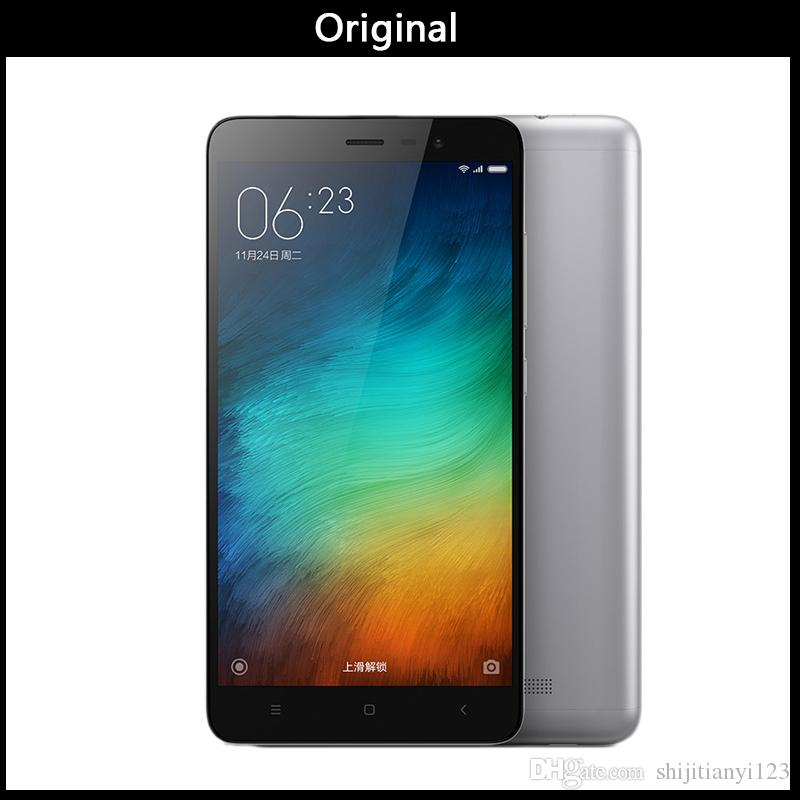 wholesale mobile phone Original xiaomi redmi note 3 pro Fingerprint Scanner  Octa Core MTK6795 3GB 32GB 5 5 inch cell phone wholesale