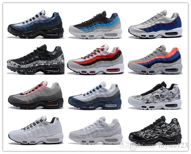 854c585d47 2019 95 TT OG 20th Anniversary Men Running Shoes Solar Red Pull Tab Grape  Patch Release Triple Black White 95S Trainers Designer Sneakers 36 46 From  Mysm123 ...