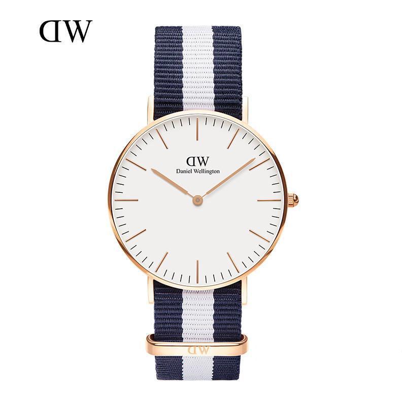 45af9b1dc3a4 Compre Nuevos Mejores Relojes Para Mujer De 40mm Para Hombres Relojes Para  Mujeres 36 Relojes D Marca De Lujo Reloj De Cuarzo DW Reloj De Negocios De  Nylon ...
