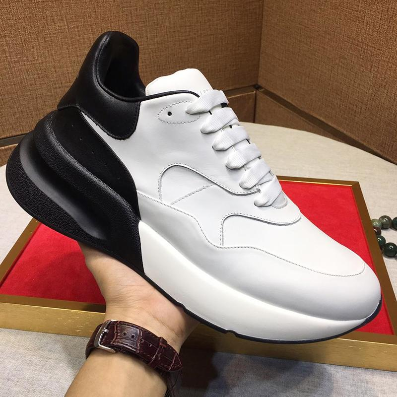 Nuove scarpe da donna Sneakers High Top Sneakers oversize Chaussures de femmes MQ25 Scarpe uomo Luxury Luxury Sale Zapatos de Mujer Fast Ship