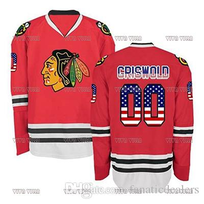 9f7cb4abb Clark Griswold  00 Christmas Vacation Movie Hockey Jersey Custom Any Name  Any Number Stitched Men Ice Hockey Jersey S 3XL UK 2019 From  Fanaticdealers