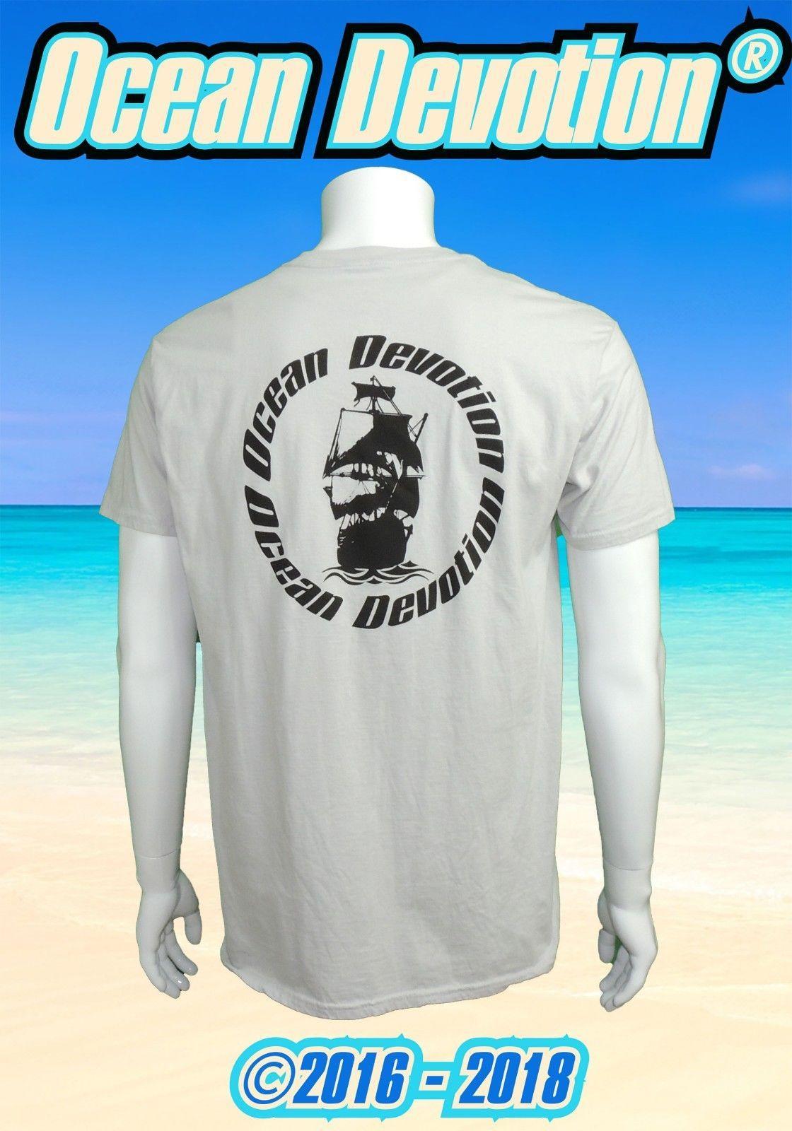 f58543a6d94 Pirate Ship Ocean Devotion Mens T Shirt Sailing Rum Beach Sailboat Salt  Life Funny Unisex Casual Tshirt Top Cool Team Shirts Crazy Shirt Designs  From ...