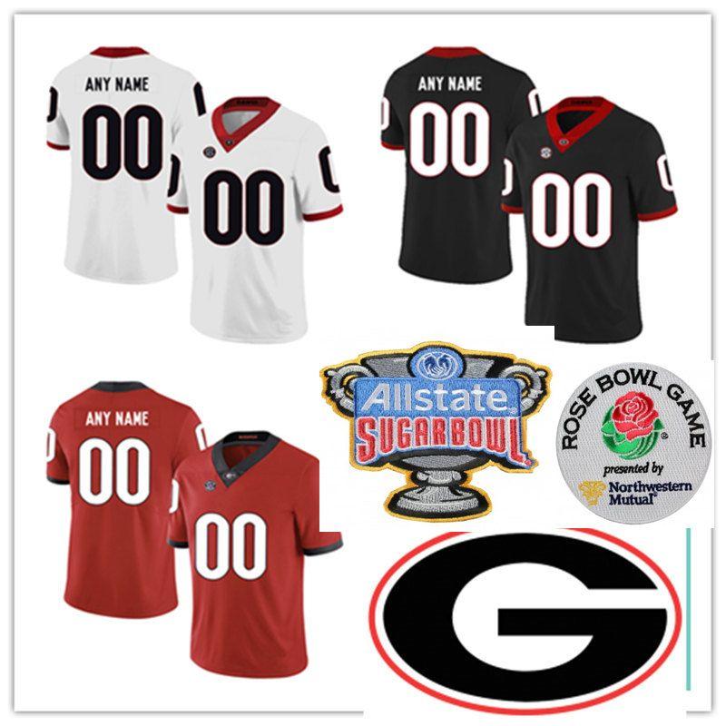 premium selection 8af14 eb3c4 Custom NCAA Georgia Bulldogs Football Jersey Lamont Gaillard D'Andre Walker  Zamir White Stetson Bennett Brenton Cox Bill Goldberg UGA Jersey