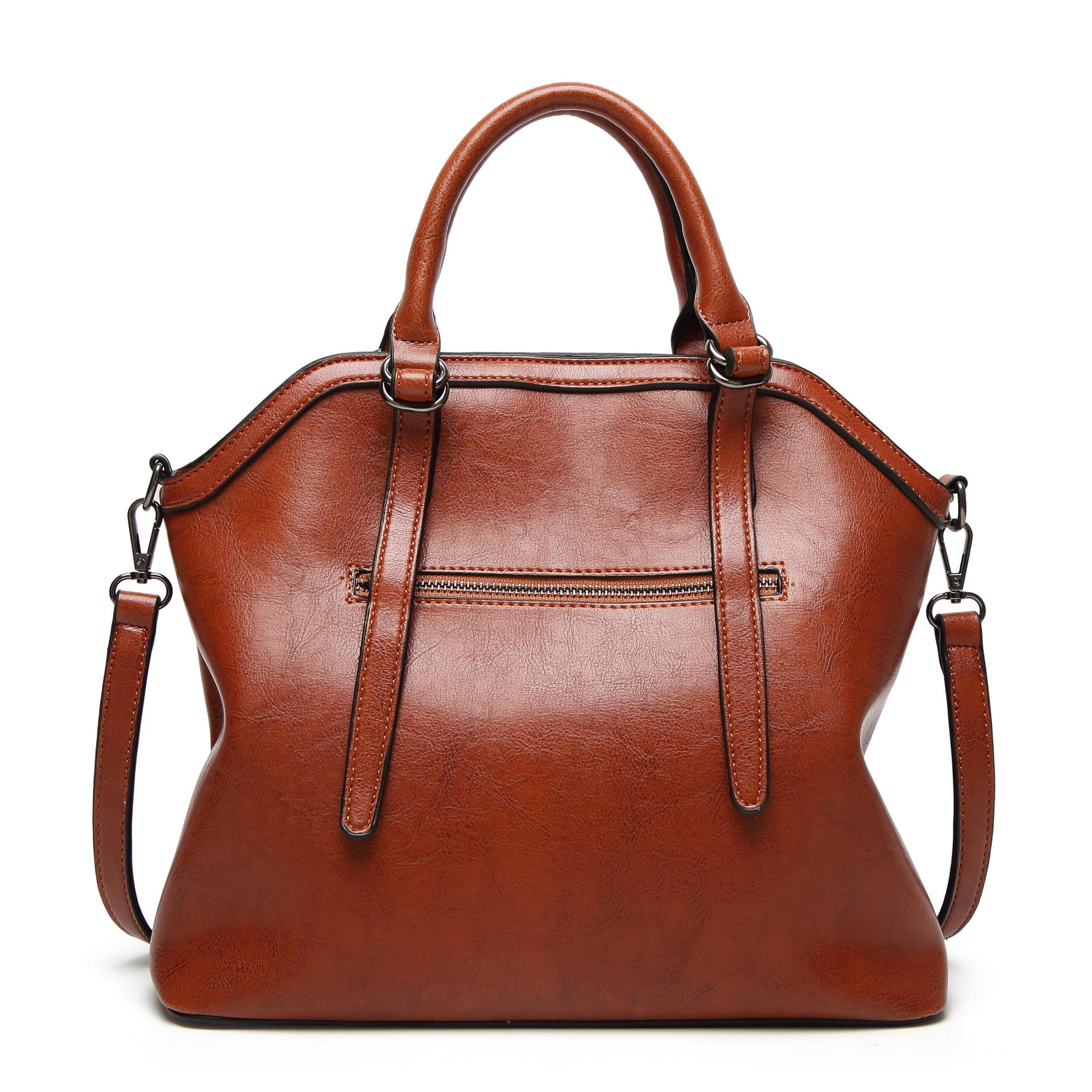 9ef63813b41f 2018 Special Offer Totes New Women Handbags Brown Burgundy Shoulder ...