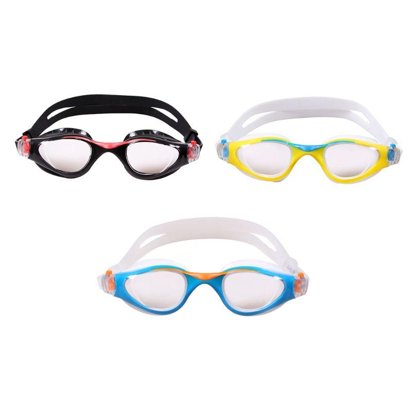 Kids Baby Swimming Goggles Waterproof Anti-Fog UV Resistant Swim Glasses Elastic Adjustable Headband Eyewear Soft Silicone Pad