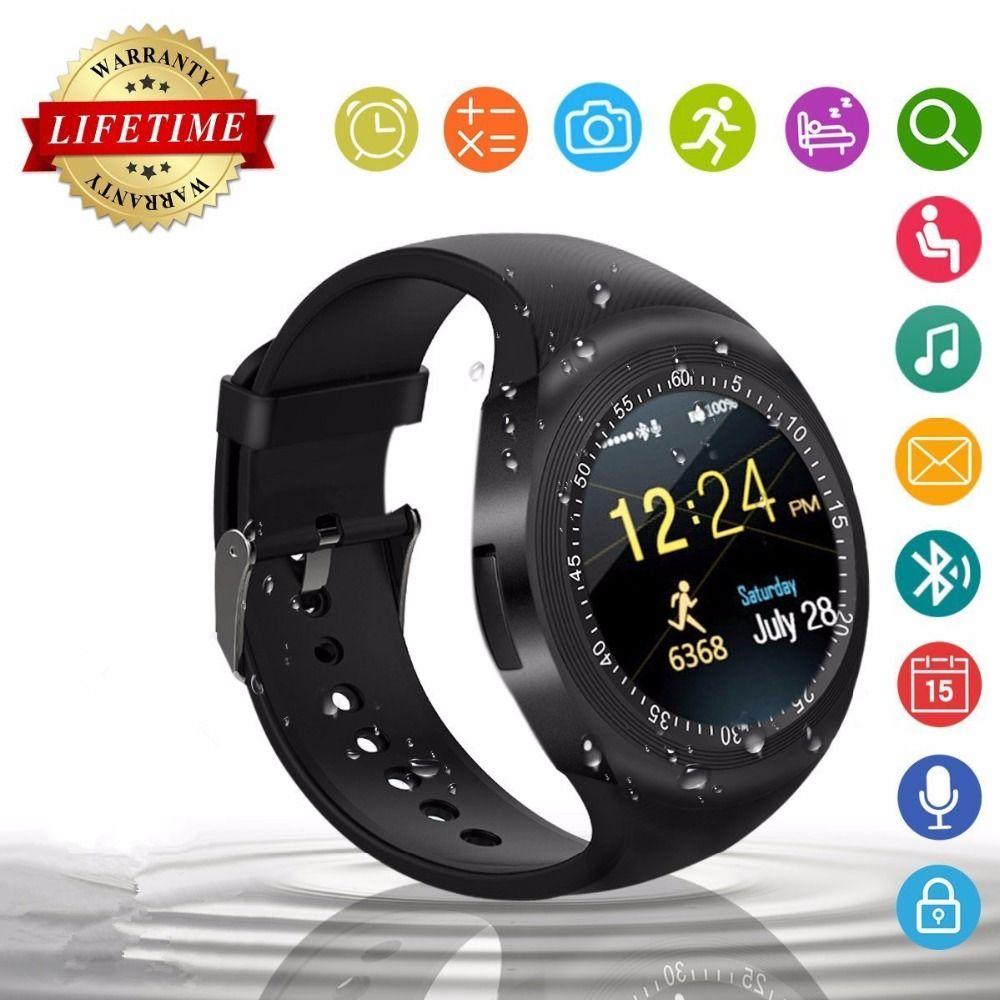 2018 Best Wearable Fitness Tracker Smart Watch Phone Smartwatch for Kid Men  Women Fashion Android Smat Watch