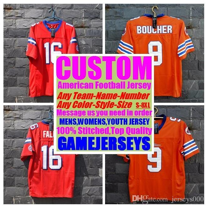 new style dec60 33861 Customized american football jerseys college cheap authentic game elite  sports jersey stitched mens womens youth kids 4xl 5xl 6xl 7xl 8xl