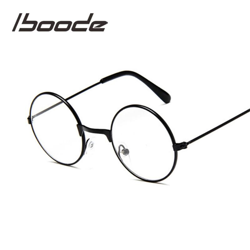 ef630317e535 2019 Iboode Round Spectacles Glasses Frames Eyewear Kids With Clear Lens  Myopia Optical Transparent Glasses For Children Boys Girls From Watercup,  ...