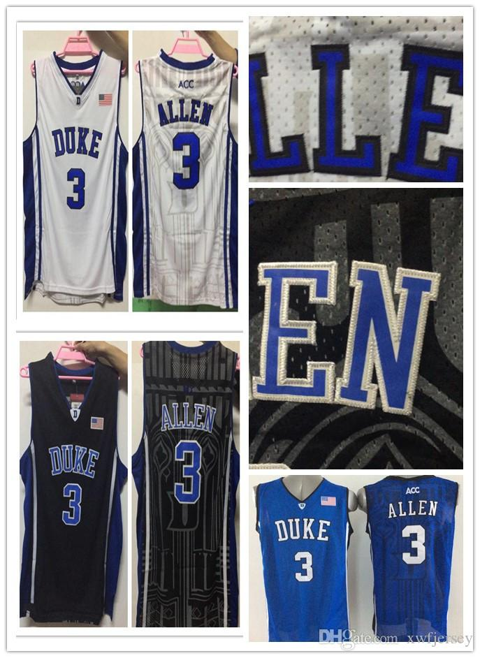 2019 NCAA Duke Blue Devils  3 Grayson Allen College Basketball Jerseys Full  Stitched High Quality PHYSICAL STOCK PHOTO From  8c2489cf9