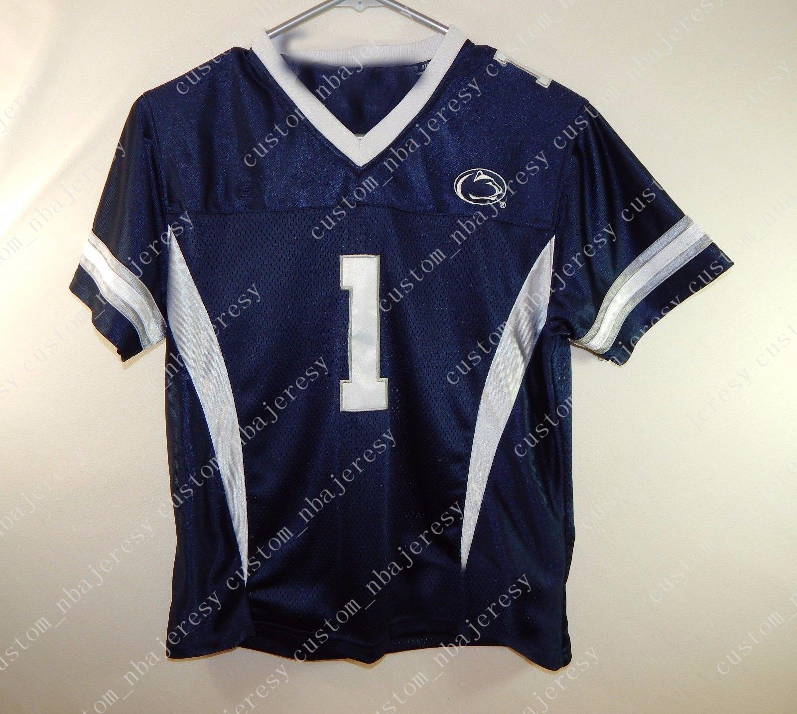 b7d38cf53 2019 Cheap Custom Penn State #1 Nittany Lions NCAA College Football Jersey  Customized Any Name Number Stitched Jersey XS 5XL From Custom_nbajersey, ...