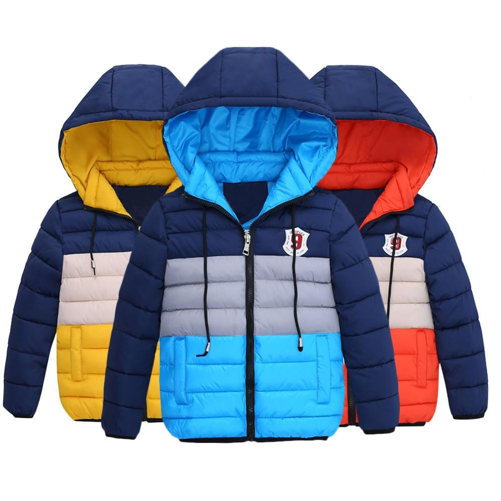 e1cfb5e0d900 good quality Fashion Coat Chlidren Winter clothes Coats Jacket Kids Zipper  Thick Wind Snow Hoodie Clothes windbreaker for boy roupas