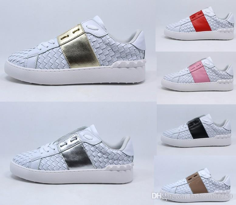 58afec66423 Compre 2019 Zapatos De Diseñador Con Cierre Ajustable De Hebilla De Piel De  Becerro Hombres Zapato Zapato Detalle Zapatillas Mujeres Tamaño35 46 A   81.22 ...