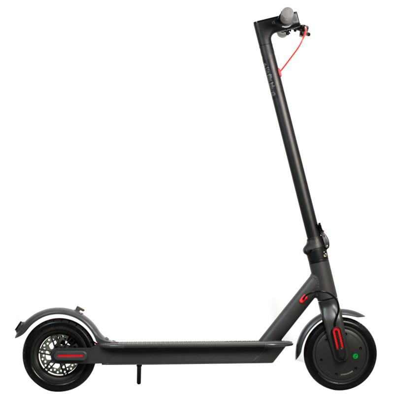 Germany Warehouse 8.5 inch Aluminum alloy air tyre electric scooter 36V 250W power 6.6Ah Batter adult Smart Scooter Balance Car