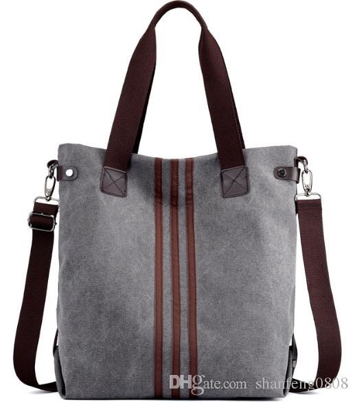 e9a7daac0470 Fashion Women S Canvas Bag New Retro Handbags Wild Korean Version Of The  Tide Shoulder Messenger Bag High Quality Women S Shoulder Bag Discount  Designer ...