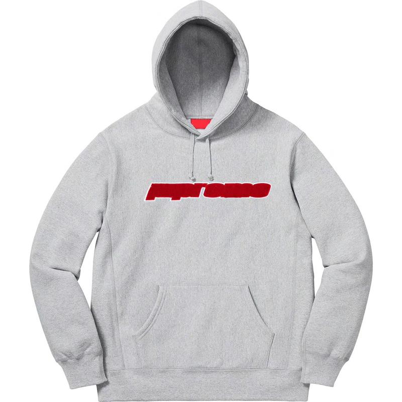 Hot Sell 19SS Box Logo CHENILLE LOGO Hooded Sweatshirt Fashion Hoodies Men Women Highstreet Crewneck Casual Pullover HFLSWY297