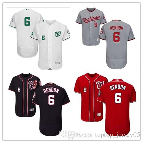 f1b081b5a 2019 2018 Washington Nationals Jerseys  6 Anthony Rendon Jerseys Men  WOMEN YOUTH Men S Baseball Jersey Majestic Stitched Professional  Sportswear From ...