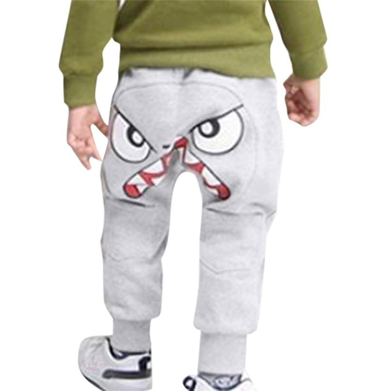 52c086f57b19 Boys Pants Toddler Infant Baby Cartoon Bird Tongue Printed Harem Pants Kids  Pants Boys Trousers Kids Boys Clothes D21 Army Trousers For Kids Ski Bibs  For ...