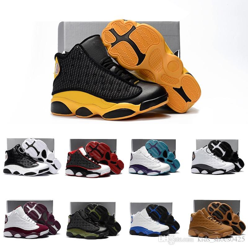 Mix Cute Silicone basketball fashion shoes J13 comfortable high quality Sneaker for boys and Girls Christmas Gifts