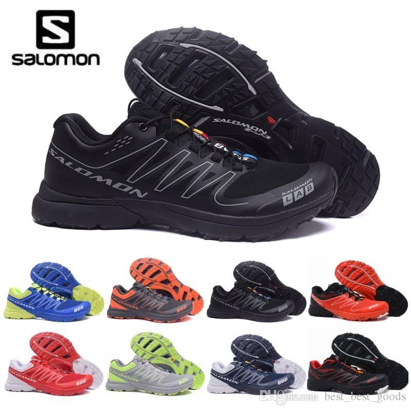 huge discount 0bf11 0260d 2019 2019 New Mens Salomon S LAB SENSE Ultra Run Soft Ground Wings Fashion  Running Shoes High Quality Outdoor Jogging Sports Athletic Shoe From ...