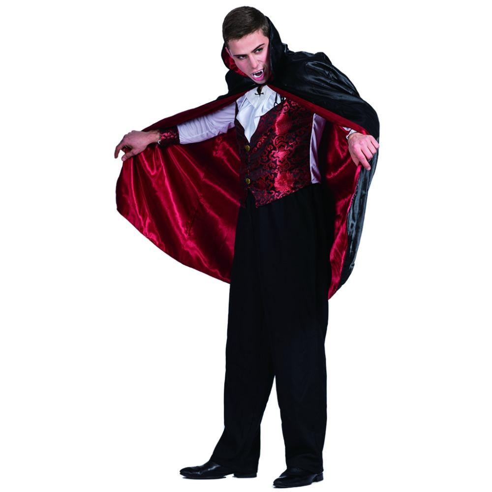 Acquista Accessori Costumi Cosplay Uomini Vampiro Conte Dracula ... 34be0e0536e2