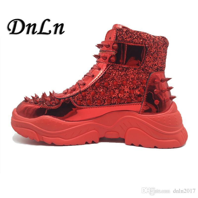 Hot Womens High Top Shoes Lace up Extérieur Randonnée Imperméable Non-Slip chaud bottes
