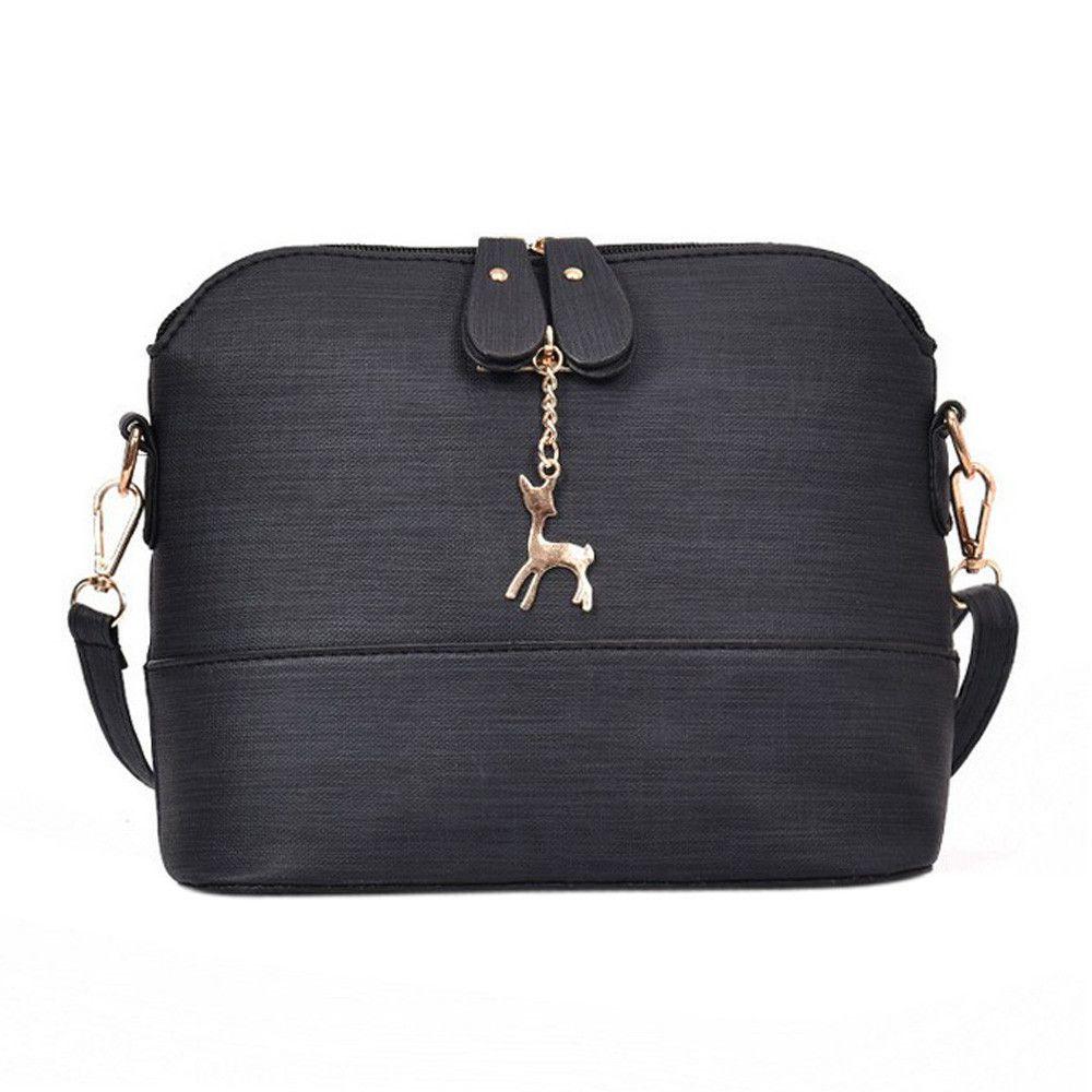 9645d88b02a Designer High Quality Women Bag Fashion Dating Messenger Bags Vintage Small  Shell Versatile Leather Handbag Casual Packet Bolsas Feminina Crossbody Bags  ...