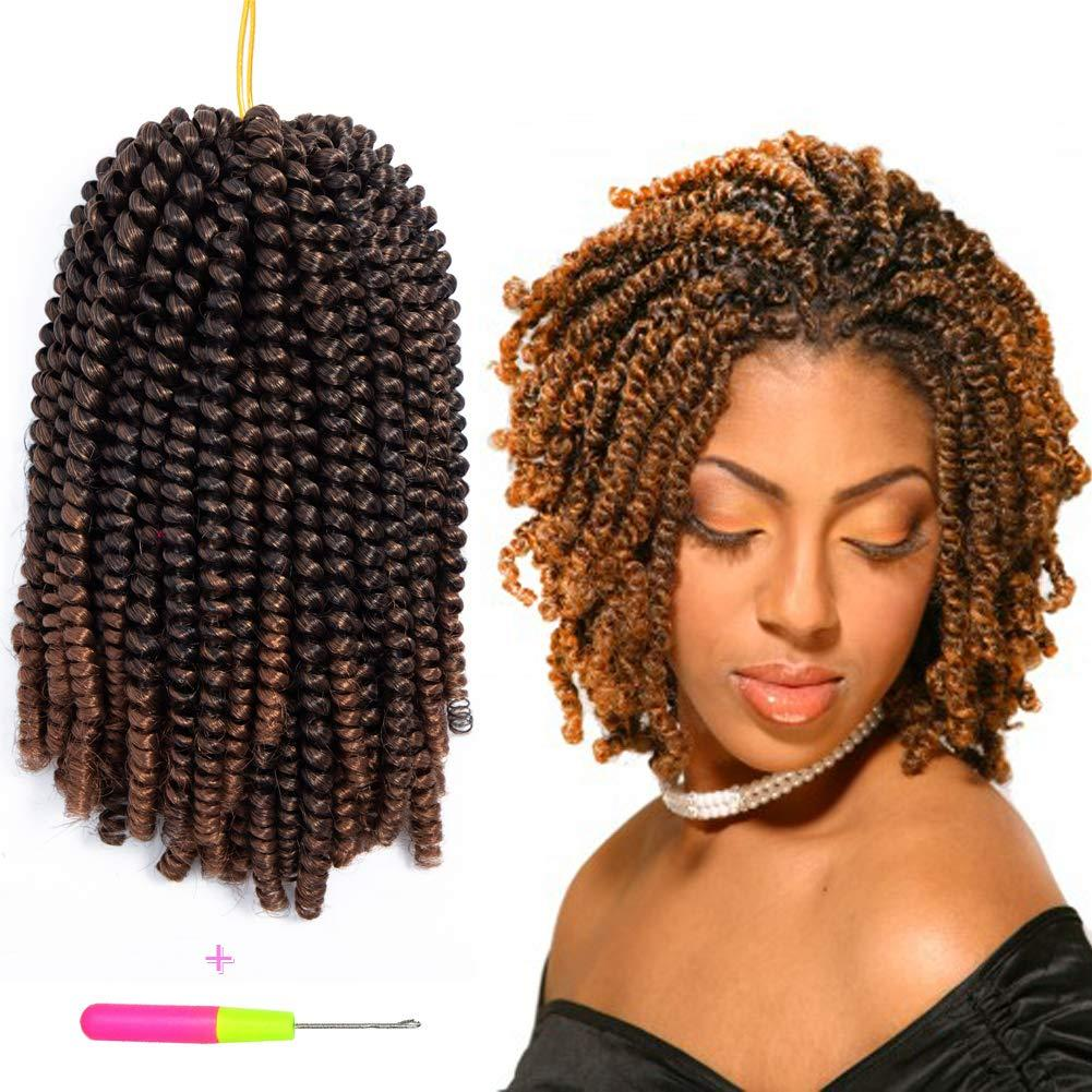 2019 Hot Sale Crochet Braids Spring Twist 3packs Havana Mambo