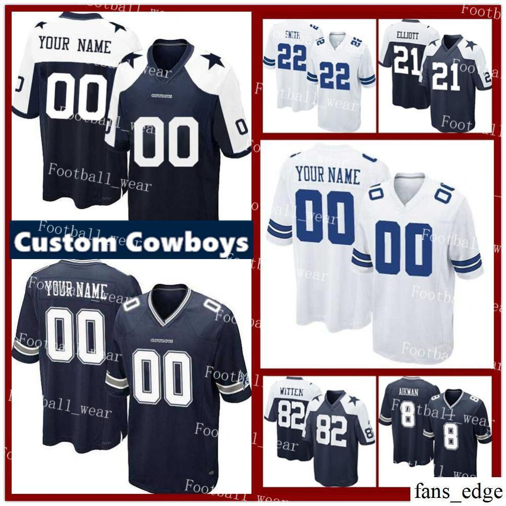 100% authentic 86ca8 085be purchase dallas cowboys womens custom jersey df3eb c3a19