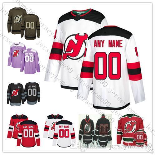 the best attitude 03d4a f96bb Custom Men Women Youth New Jersey Devils 9 Taylor Hall 13 Nico Hischier 35  Cory Schneider Kyle Palmieri Stevens Hockey Jersey stitched S-4XL