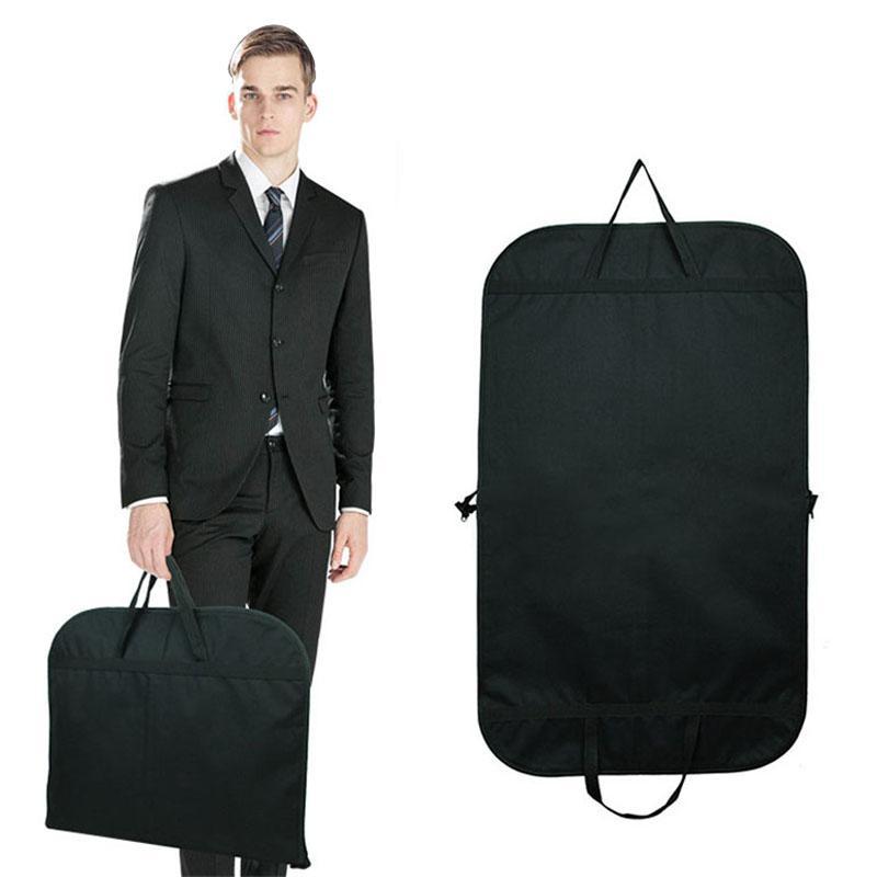72a34d062c Black Men Dust-proof Hanger Coat Clothes Garment Suit Cover Storage Bags  Durable Men Business Trip Travel Mochila Online with  41.68 Piece on  Fashion710 s ...
