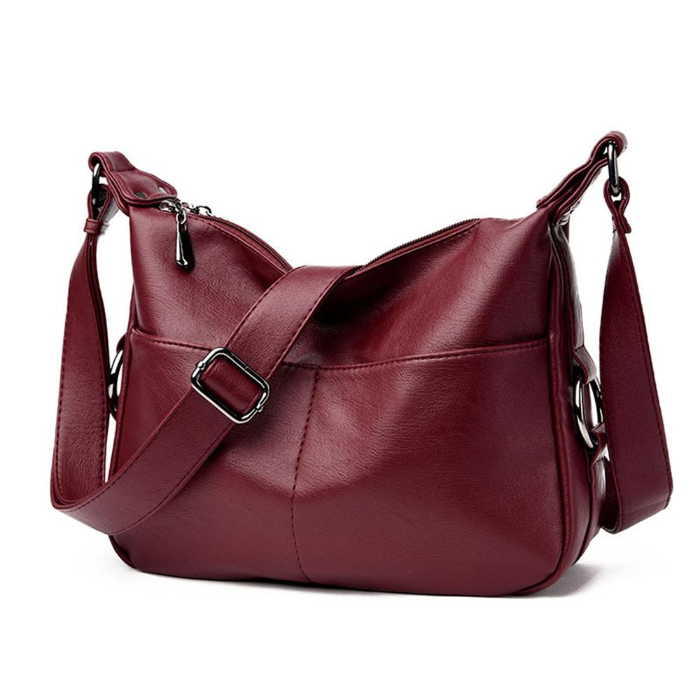 603782202ec Hazy Beauty Winter Women Leather Top-handle Bags Handbags Women ...